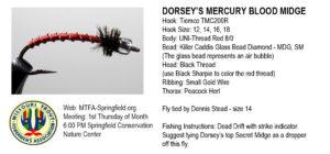 Dorsey's Mercury Blood Midge