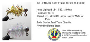 Jig Head Tinsel Chenille