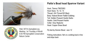 Pattie's Bead Head Sparrow Variant